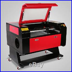 CO2 Laser Engraving Engraver Machine 80w 700x500mm Artwork Cutter Woodworking