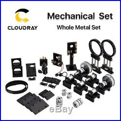 CO2 Laser Metal Parts Mechanical Parts Set Transmission Laser head DIY Machine