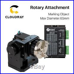 Chuck Rotary Shaft Rotating Max D65mm for Fiber Laser Marking Engraver Machine