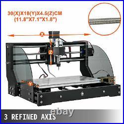 Cnc 3018 Pro MAX Cnc 3018 10000 RPM 3 Axis + Offline controller Laser Engrave