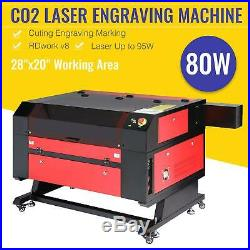 Co2 Laser Engraver Cutter 80W 28x20 Ruida DSP Cutting Engraving Marking Machine