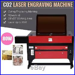 Co2 Laser Engraver Cutter Ruida DSP Cutting Engraving Marking Machine 28x2080W