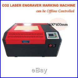 Co2 Laser Engraver USB Offline Control CO2 Engraving Cutting Machine 400400mm