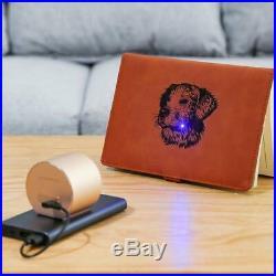 Compact Laser Engraver Machine, LaserPecker Mini Desktop with Safety Glasses