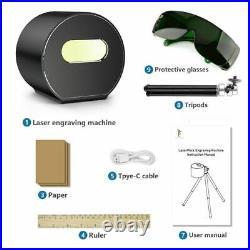 Compact Laser Engraver Machine Portable Pecker Desktop Etcher Cutter Printer