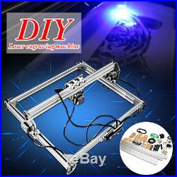 DC 12V 3000mW Laser Engraving Machine DIY Desktop Carving Cutting 65x50CM