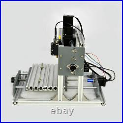 DIY 2417 Desktop Mini Engraving Machine Milling Engraver CNC Router PCB Metal