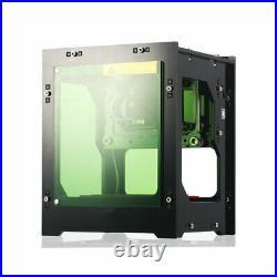 DIY 3000mW Desktop Mini CNC Laser Engraver Cutter Wood Cutting Router Machine