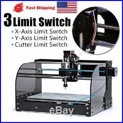 DIY CNC Router 3018 pro-M Laser Engraver Engraving Milling Machine Beginner US