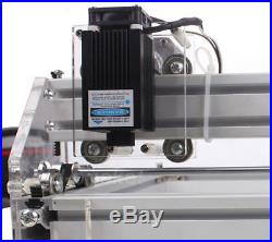 DIY Desktop Mini Laser Cutting/Engraving Machine 500mW Logo Marking Printer Imag