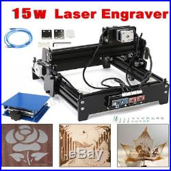 DIY Laser Engraving Machine 15W Image Printer Metal Steel Iron Stone Engraver