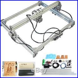 DIY Laser Engraving Machine Logo Marking Printer Engraver Kit 500mw 65x50cm
