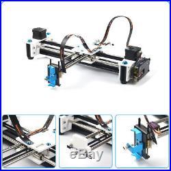 DIY XY 2 Axis CNC Laser Drawing Engraving Machine Printer Pen Plotter