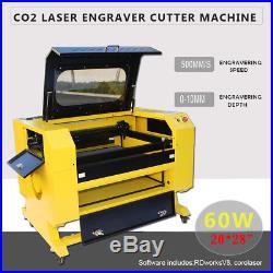Desktop 60W Laser Engraver Engraving Cutting Cutter Machine USB 700 x 500mm
