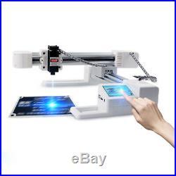 Desktop Laser Engraving Machine DIY Logo Marking Printer Engraver Cutting 3000mW