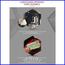 Desktop Portable Laser Engraver Machine Carver DIY Lo-go Mark Fast Cutting Tool