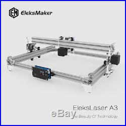 EleksMaker Engraving Laser Cutting Machine A3 Pro 2500mW USB Wood Engraver