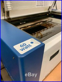 Epilog Zing 60 Watt Laser Engraver Used Made in the USA FREE SHIPPING