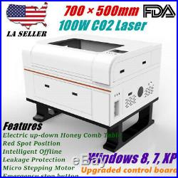 FDA 700mm × 500mm 100W CO2 Laser Engraver Engraving and Cutter Machines