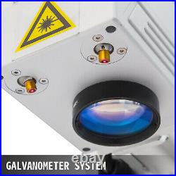 Fiber Laser Marking Machine 20W Laser Focus Engraver 110X110mm Red Lignt Focus