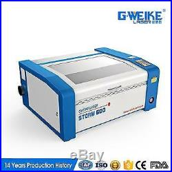G. WEIKE 40W glass tube CO2 laser engraving/cutting machine 400600 working area
