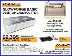 Glowforge Basic Laser Cutter, Very Lightly Used, Chicago Pick-up