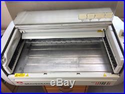 Gravograph LS100EX Laser Machine Second hand laser Engraver Machine has laser