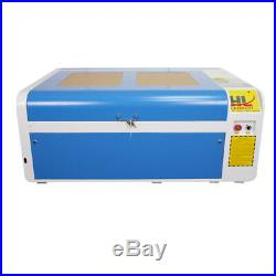 HL 100W CO2 Laser Engraving Machine Laser Cutter RECI W2 Tube CW5000 Chiller