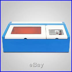 High Precise 40w Co2 Laser Engraving Cutting Machine Engraver Cutter Usb Port