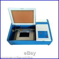High Quality 300mm x 200mm Desktop 50W Mini CO2 Laser Engraver Cutting Machine