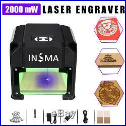 INSMA 2000mW USB Laser Graver Graveur Gravure Engraving Imprimante Machine DIY