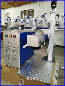 JPT 50W fiber laser marking machine with auto foucs laser engraving machine