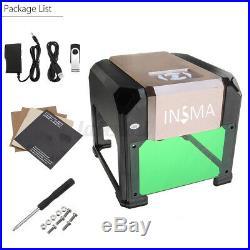 K3 3000MW USB Laser Engraver Engraving Cutting Machine DIY Logo Printer CNC US