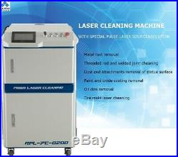 KUNTAI 100W Handheld Laser Cleaning Machine for Rust Removal Auto Laser Cleaning