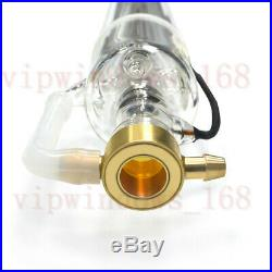L1200mm Co2 Laser Tube 60W D55mm Glass Head for CO2 Laser CNC Engraving Machine