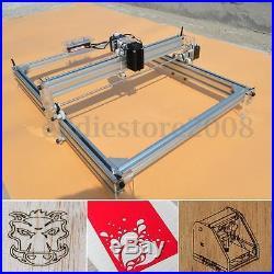 LARGE 500MW DIY Laser Engraver Engraving Marking Machine Logo Printer 40x50CM