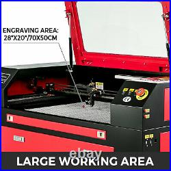 Laser Engraver Cutting Machine 60W + CW-3000 Industrial Water Cooler Chiller