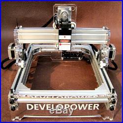 Laser Engraver Cutting Machine Desktop Mark Logo Engraving Printer 2000mW