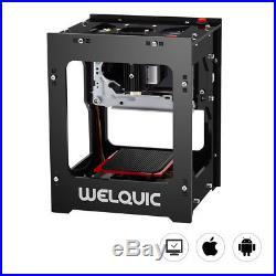 Laser Engraver DIY Engraving Printer Machine Logo 3D Printer Bluetooth For Phone