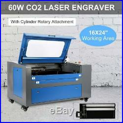 Laser Engraving Cutting Machine Pro USB 60W Co2 Laser Engraver Cutter 16 x 24