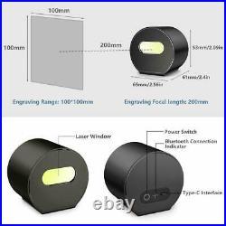 Laser Pecker Laser Engraving Cutting Machine Engraver DIY Logo Printer With Tripod