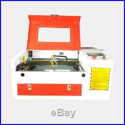 Laser engraving machine laser cutter Ruida system 50W 4030 CNC CO2 rubber