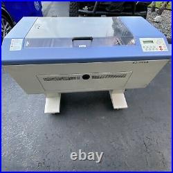 LaserPro L-25 Mercury Laser Engraver with pump, software, materials OBO