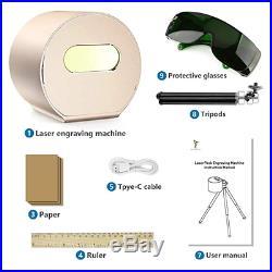 Laserpecker Laser Engraver 3D Printer Portable Mini Laser Engraving Machine Lase