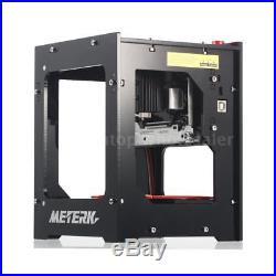 METERK 1500mW Mini DIY USB Laser Engraving Machine Engraver For iOS/Android PC
