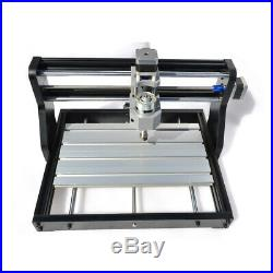 MINI 3 AXIS DIY CNC Router Kit 3018 Laser Engraver Carver Machine USB+ GRBL 2in1