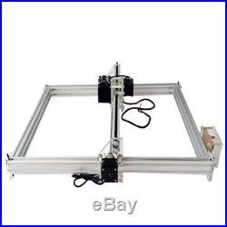 Makaad Diy CNC machine, Wood Router laser engraving Desktop Violet Laser 1600W