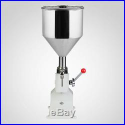 Manual Machine Remplissage Filling Shampoo Filler A03 5-50ML Capacity