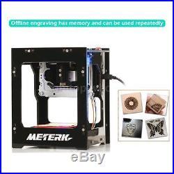 Meterk 1500mW DIY Bluetooth 4.0 Laser Engraving Machine Engraver for iOS/Android