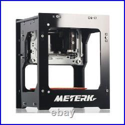 Meterk Desktop 1500mW Mini DIY Bluetooth Laser Engraving Cutting Printer Machine